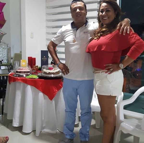 Rafael santos y su mama