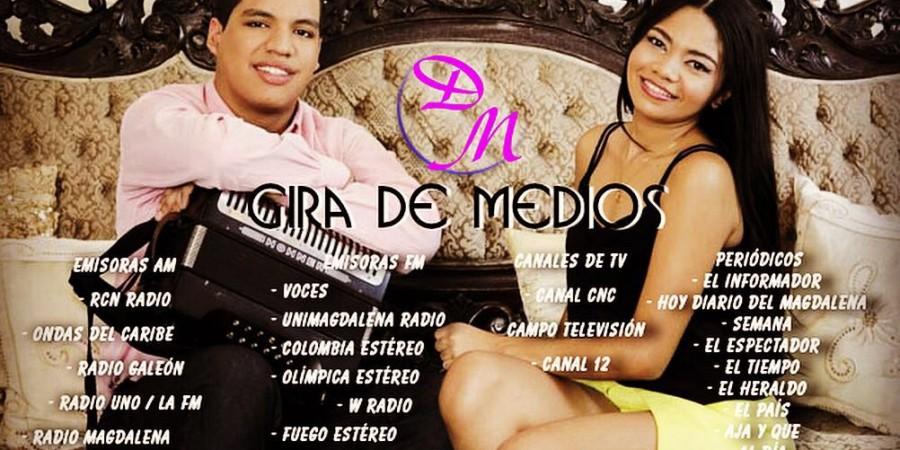 Gira de medios de la organización musical Daniela Martinez & Carlos Catalan