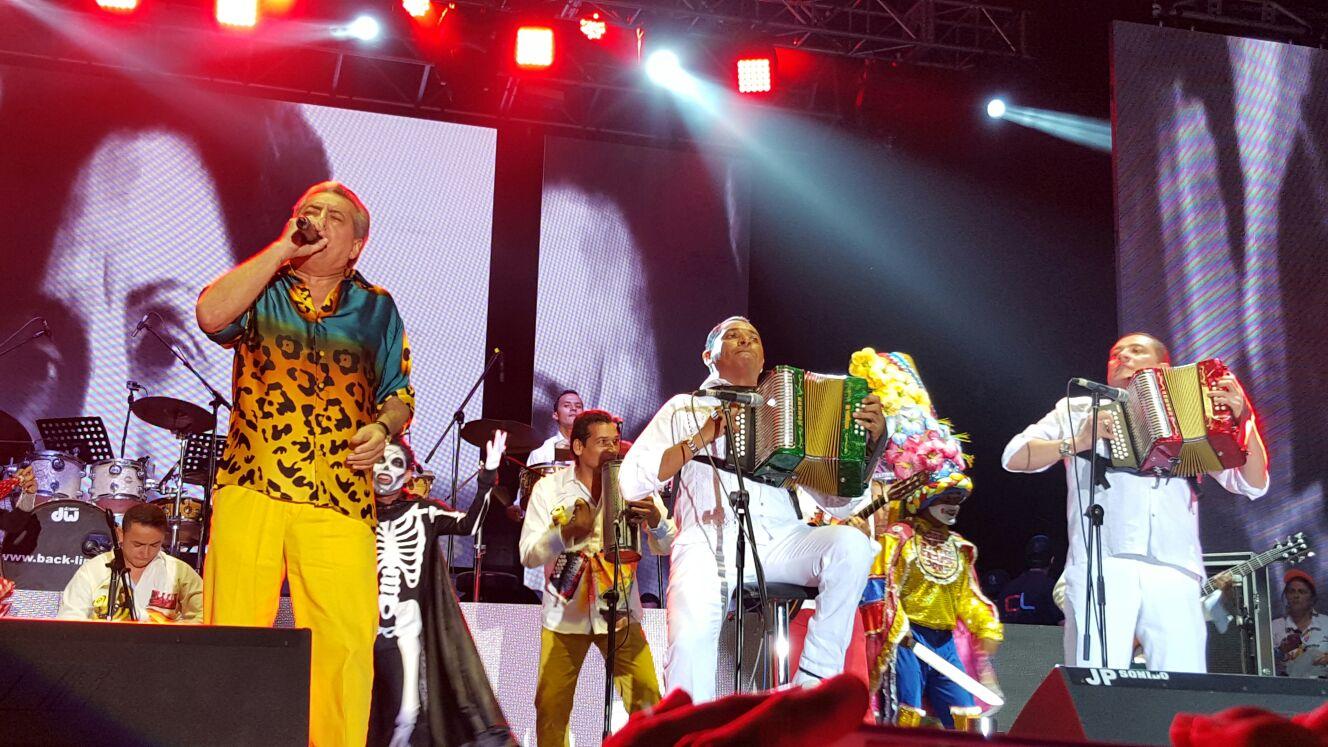 homenaje al vallenato; Jorge oñate, Hugo Carlos Granados y el cocha molina
