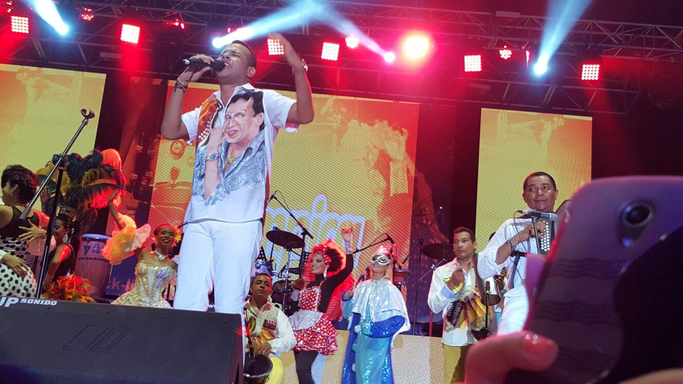 homenaje al vallenato; Martin Elias Diaz