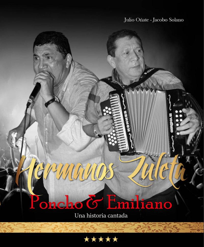 Esta es la portada del libro sobre la vida y obra de los hermanos Zuleta que próximamente publicarán Julio Oñate Martínez y Jacobo Solano.