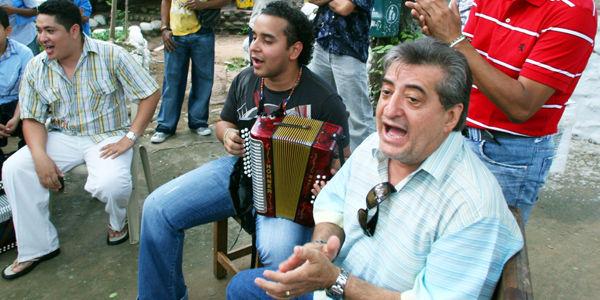 Parranda vallenata con Jorge Oñate, en Valledupar - PH Mauricio Moreno
