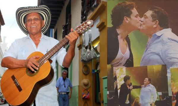 El maestro Adolfo Pacheco escribío sobre el beso de Poncho y Silvestre Dangond