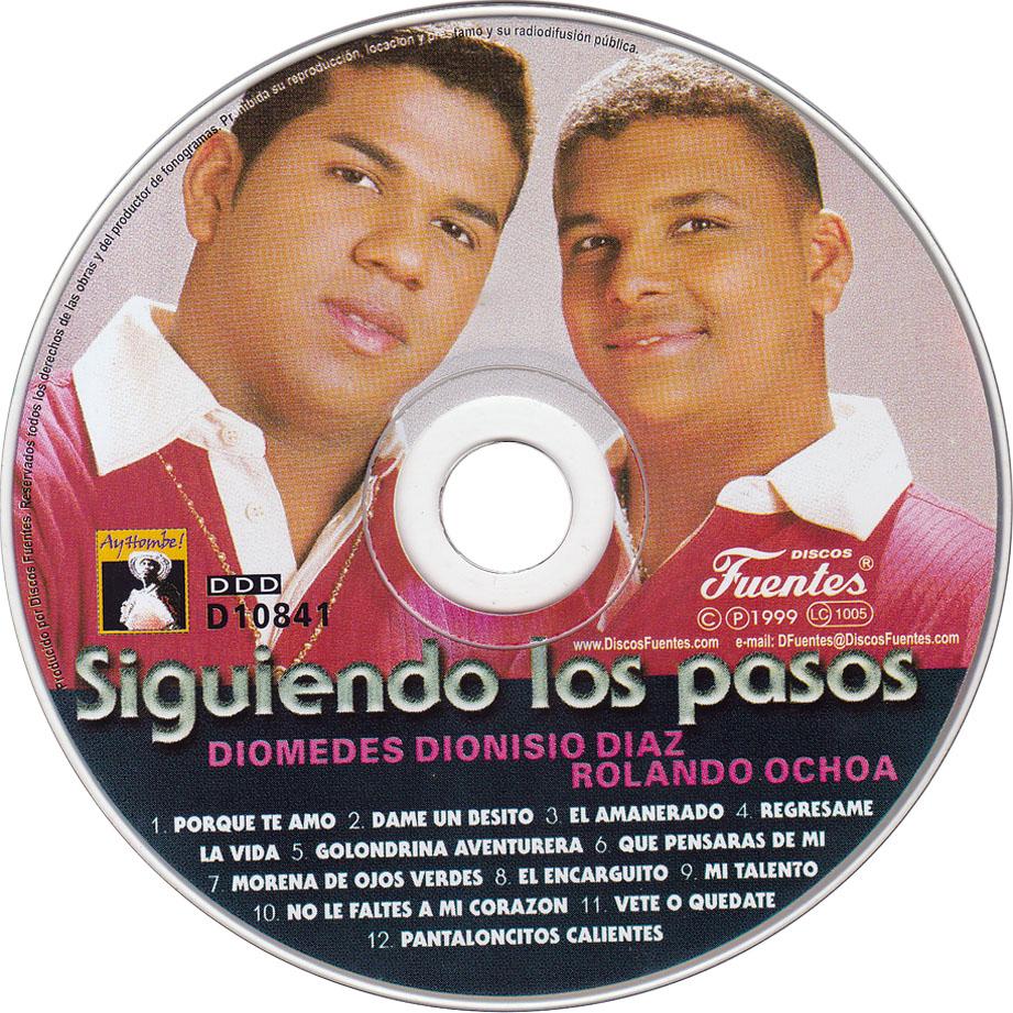 CD - Diomedes dionisio y Rolando Ochoa (Siguiendo los pasos)