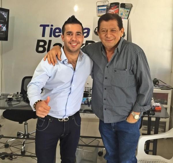 Jose Abuchaibe y Emiliano Zuleta