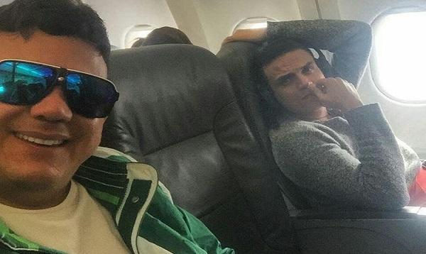 Silvestre Dangond safó a su manager Carlos Bloom