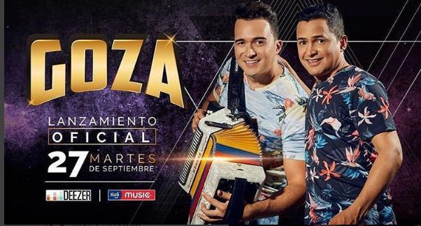 Descargar Goza, lo nuevo de Jorge Celedon y Sergio Luis