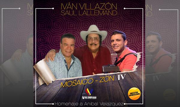 Ya puedes descargar Mosaico Zon IV lo nuevo de Ivan Villazon
