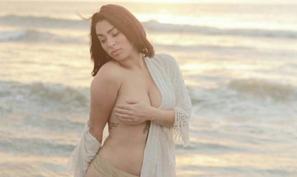 Observa las sensuales fotografías de 'Skrleth', la excorista de Silvestre