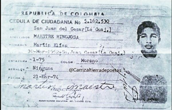 La razón por la que Diomedes Díaz bautizó a Martin Elías con ese nombre