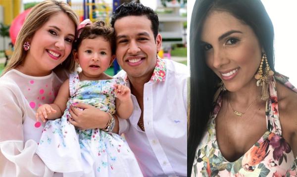 """El mensaje que escribió """"Tata"""" Becerra la esposa de Peter Manjarrés a Dayana Jaimes"""