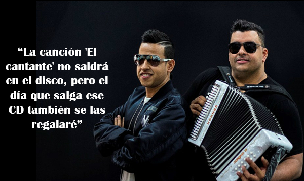 Rolando Ochoa explica por qué la canción 'el cantante' no está incluido en Sin Límites