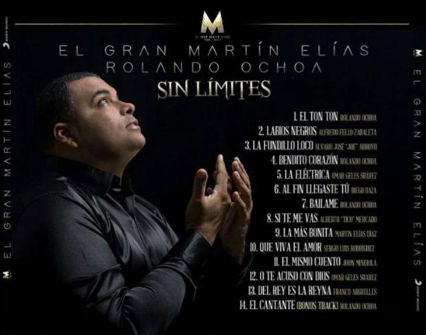 Descargar Sin limites - CD COMPLETO del Gran Martín Elías y Rolando Ochoa