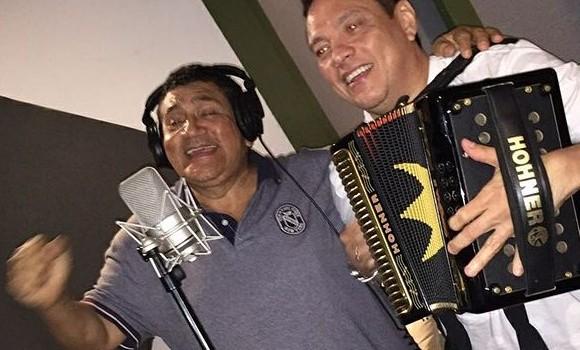 Poncho Zuleta retoma grabación para sorprender a amantes del vallenato