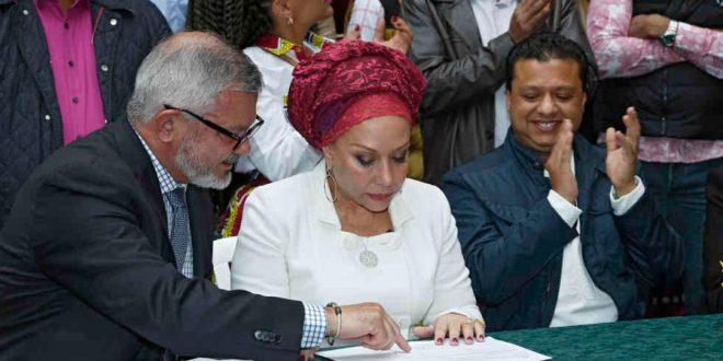 Comunicado oficial de Rafael Santos sobre apoyo a Piedad Córdoba
