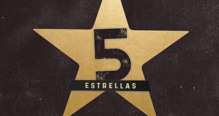 """""""5 ESTRELLAS"""" lo nuevo del grupo KVRASS."""