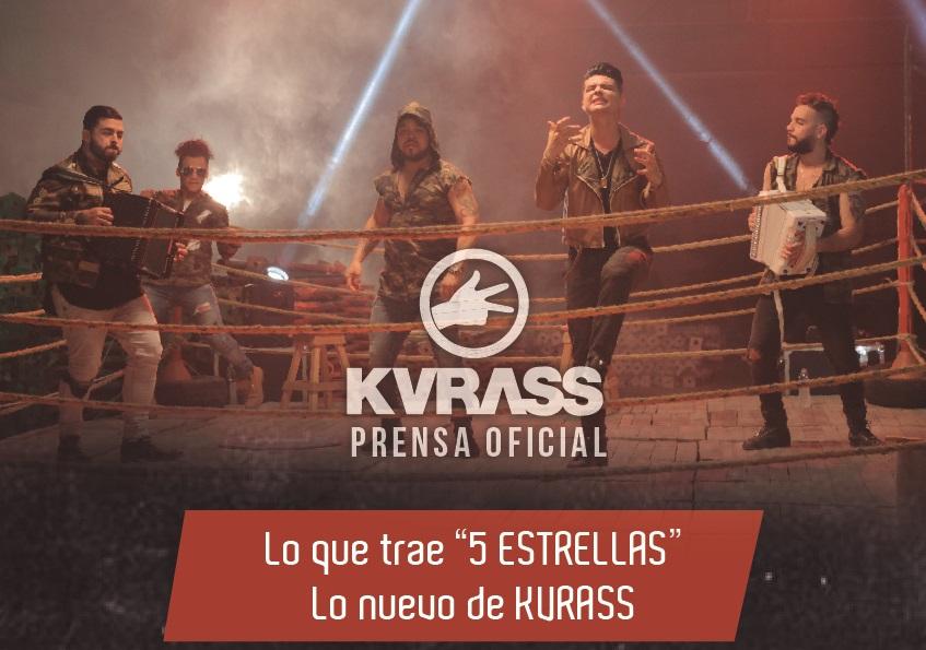 """Lo que trae """"5 ESTRELLAS"""" Lo nuevo de KVRASS"""