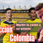 El día en que Martín Elías le cantó su amada selección Colombia