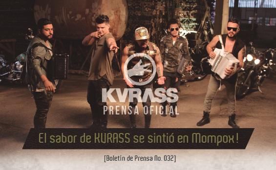 El sabor de KVRASS se sintió en Mompox