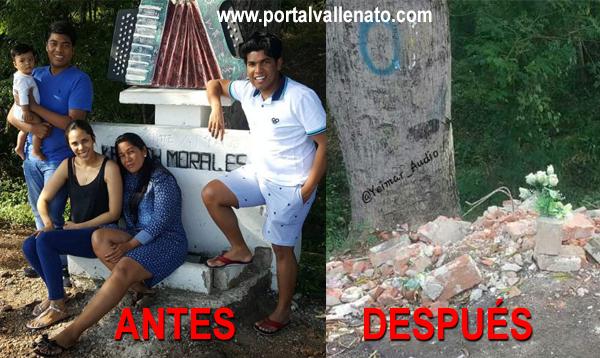 ¡INACEPTABLE! Así destruyeron el monumento a Kaleth Morales