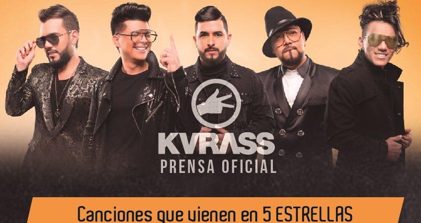 Canciones que vienen en 5 ESTRELLAS Lo nuevo de KVRASS