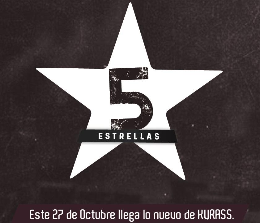 Este 27 de Octubre llega '5 estrellas', lo nuevo de KVRASS.