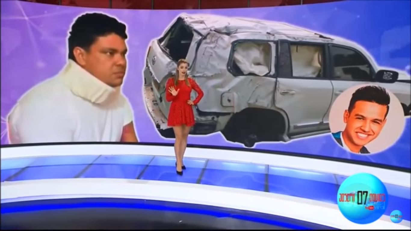 Martín Elías al parecer movió el volante a su conductor segundos antes del accidente