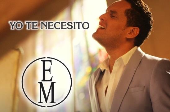 Ernesto Mendoza presenta el vídeo de la canción 'Yo te necesito'