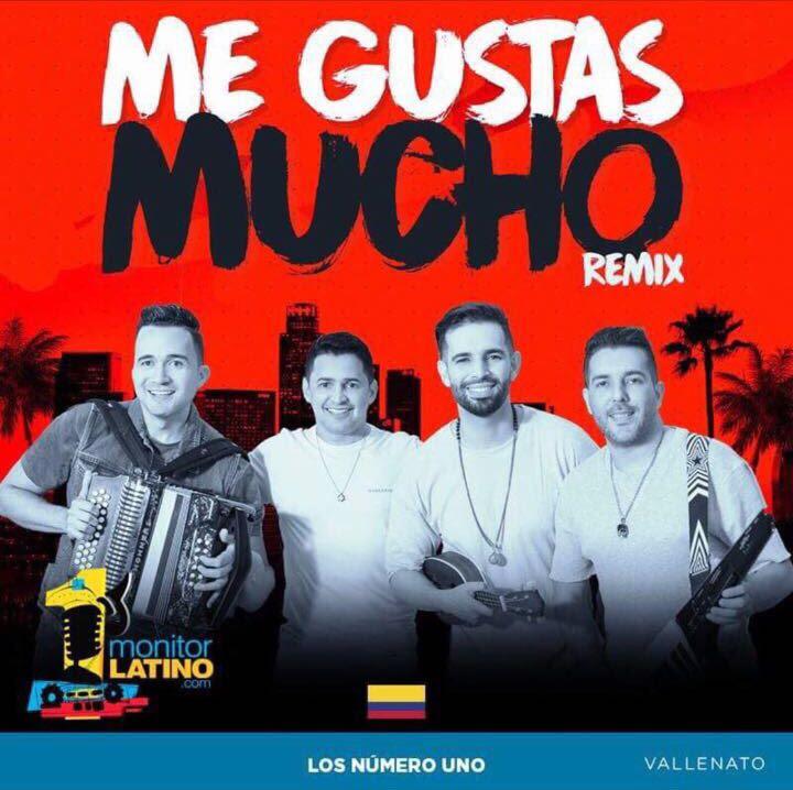 'Me gustas mucho' Remix de Jorge Celedón y Alkilados en el primer lugar