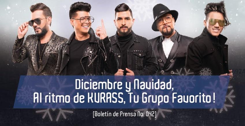 Diciembre y Navidad, Al ritmo de KVRASS, Tu Grupo Favorito!