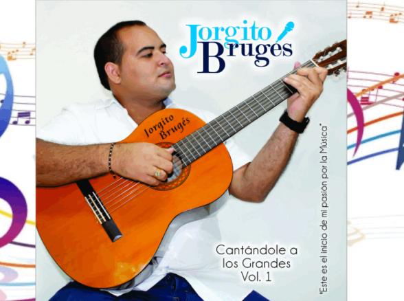 Cantante cienaguero Jorgito Brugés lanza su primer CD en guitarra