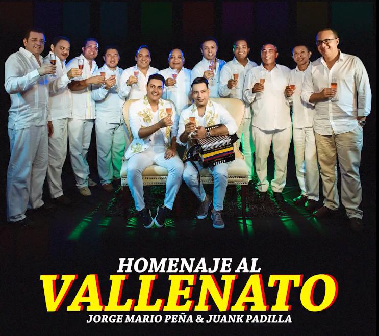 Portada Homenaje al vallenato