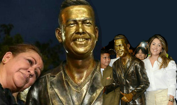 """""""La estatua es el reflejo de esa nobleza de Martín Elías"""""""