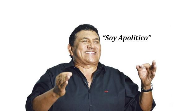"""Soy apolítico"": Poncho Zuleta"