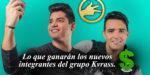 Lo que ganarían por presentación los nuevos integrantes del grupo kvrass