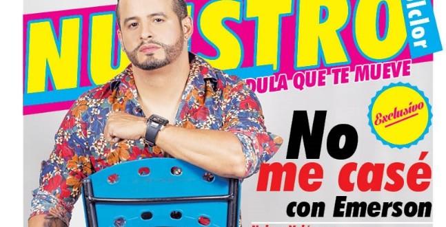 Por primera vez Nelson Velásquez habla de su supuesta homosexualidad
