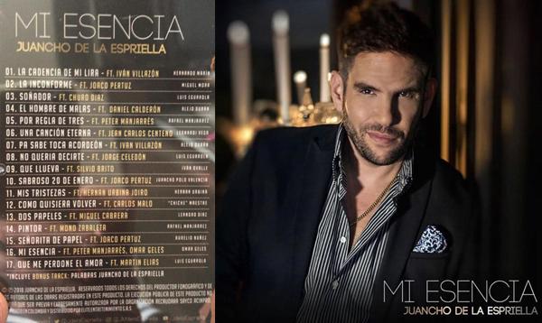 Descarga 'Mi esencia' CD completo – Juancho de la espriella