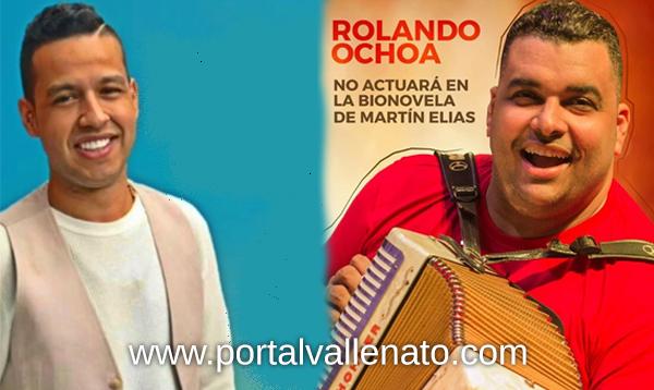 Rolando Ochoa niega a Caracol TV usar su nombre e imagen para bionovela de Martín Elías