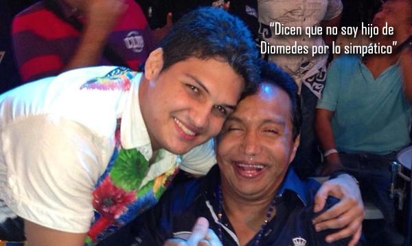Dicen que no soy hijo de Diomedes por lo simpático: Elder Dayán Díaz