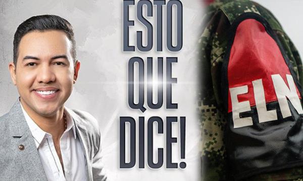 Diego Daza narró lo sucedido con la guerrilla del ELN