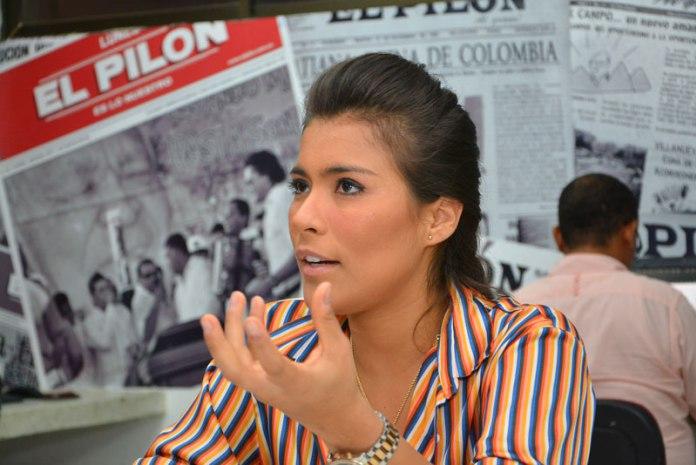 Karen Lizarazo ha pensado retirarse de la música vallenata