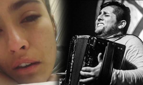 La dura pelea de Karen Lizarazo y su ex acordeonero