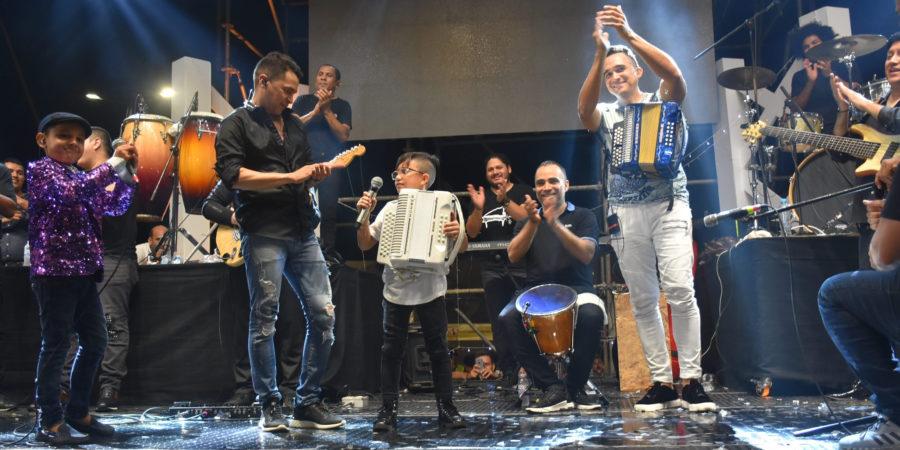 Con estos niños, el vallenato tiene futuro; Jorge Celedón