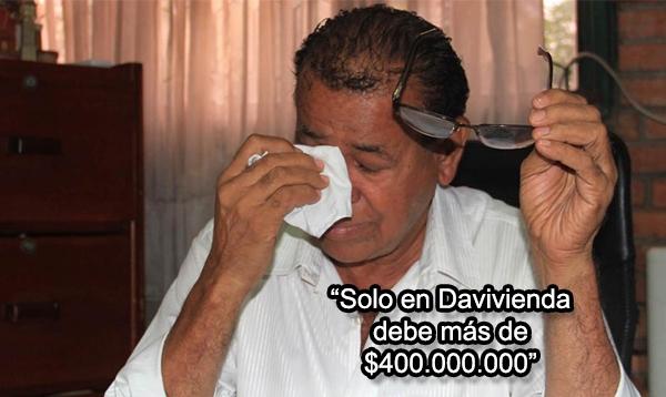 Por deudas con bancos y cobradiarios, 'El Turco' Gil está a punto de perder su casa y la Academia