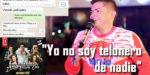 «Yo no soy telonero de nadie»; Mono Zabaleta