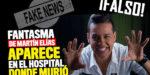 La falsa noticia del supuesto fantasma de Martín Elías en clinica de Sincelejo
