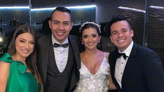 Diego Daza puso fin a su soltería