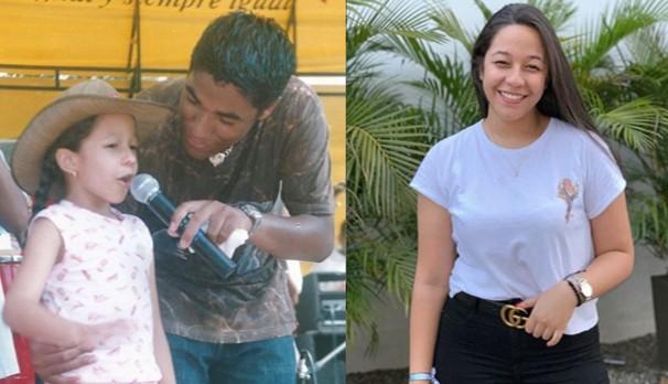 La conmovedora foto de la hija de Kaleth Morales visitándolo en la tumba