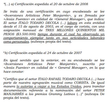 """Le tocó perder: El """"Caballero"""" Peter Manjarrés debe pagar millonaria indemnización"""