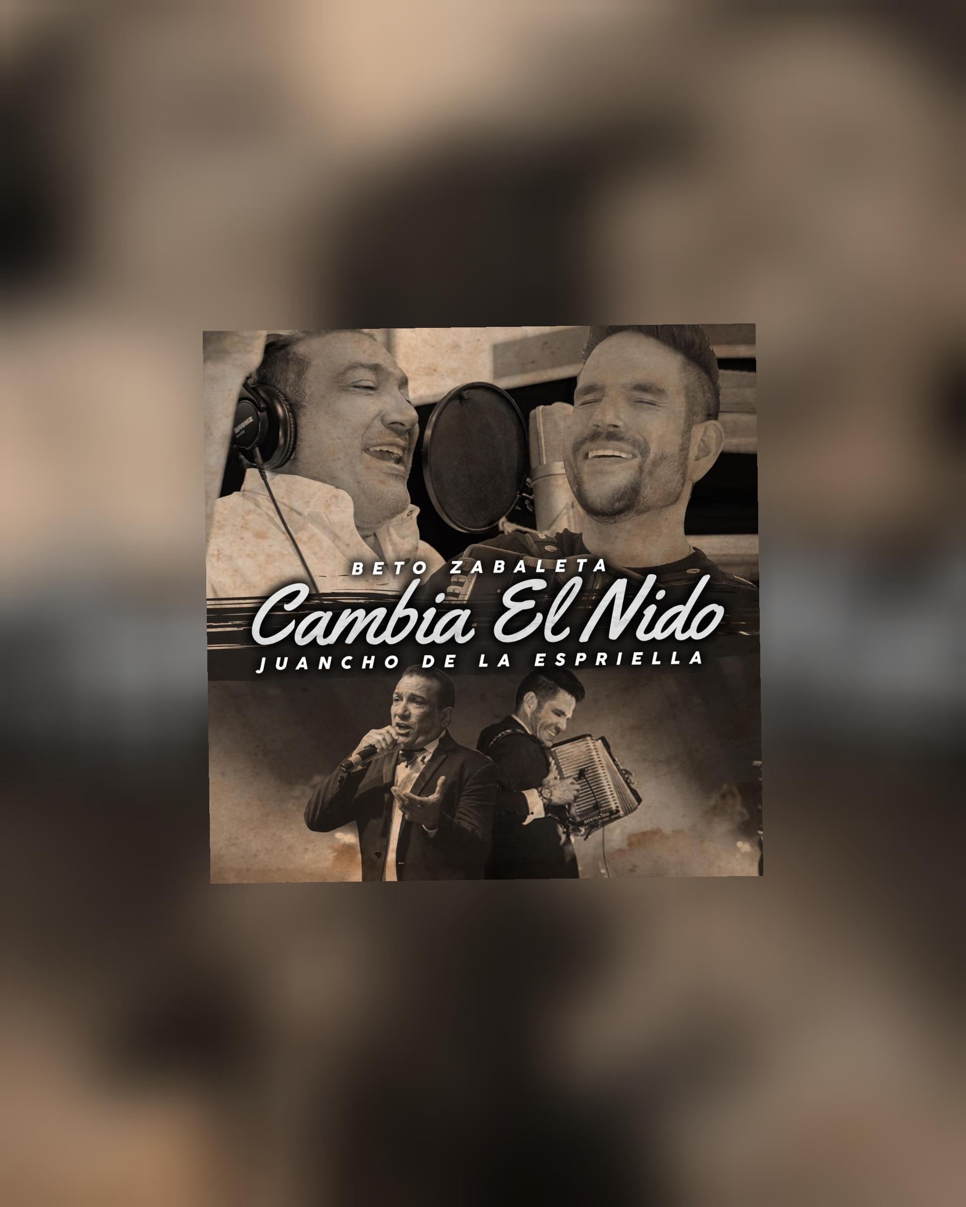 """Beto Zabaleta y Juancho De La Espriella presentan """"Cambia El Nido"""" 2020"""